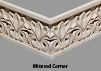 Pineapple Grove Designs Frieze Mitered Corner