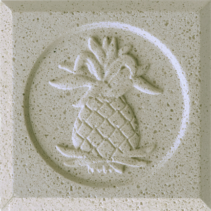 Alluvial Sand Engineered Cast Stone finish by Pineapple Grove Designs