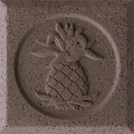 Brown Stone Engineered Cast Stone finish by Pineapple Grove Designs