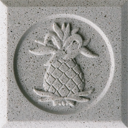 Concrete Grey Engineered Cast Stone finish by Pineapple Grove Designs