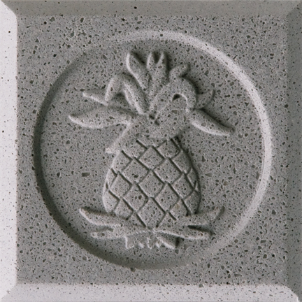 Glacier Grey Engineered Cast Stone finish by Pineapple Grove Designs