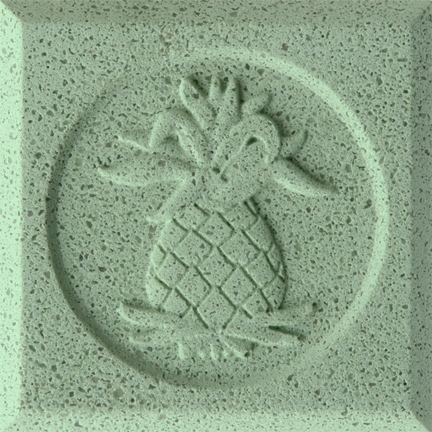 Patina Green Engineered Cast Stone finish by Pineapple Grove Designs
