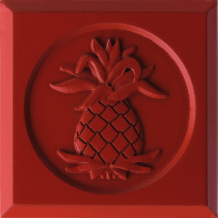Cayenne Red Chroma Painted Finish by Pineapple Grove Designs 2008