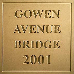 Gowen Avenue Bridge