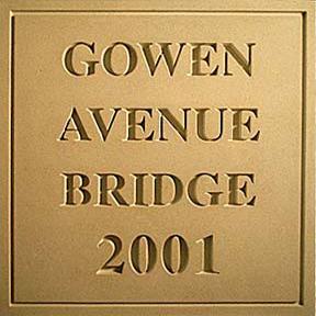 Gowen Avenue Bridge