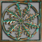 Custom Architectural Grille in Patina Bronze finish