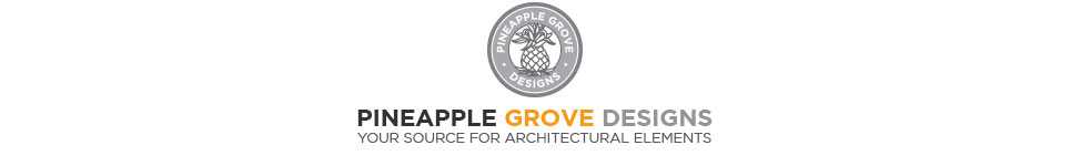 Pineapple Grove Designs Sculpted Architectural Cast Stone Ornaments and Elements