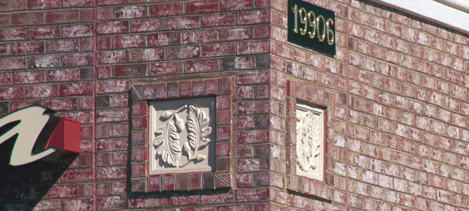 cast stone architectural ornaments and numeral plaques by Pineapple Grove Desingns