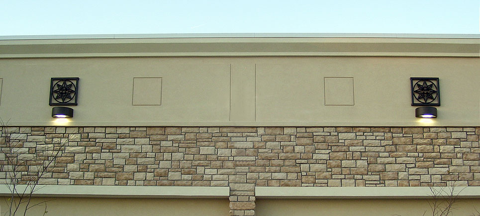 cast stone polymer fiber composite architectural ornaments and Grilles by Pineapple Grove Designs