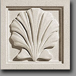 Pineapple Grove Designs Scallop SculptStone cast stone Architectural Ornament
