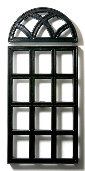 Standard grille arch window for Tubular window design