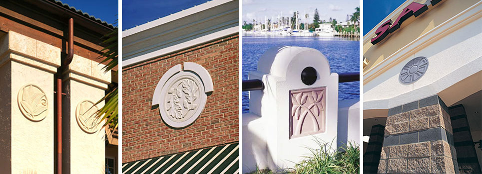 Pineapple Grove Designs architectural ornamentation samples
