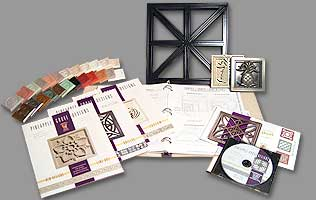 Product Samples, Product Catalogs and Binder, Color Sample Finishes